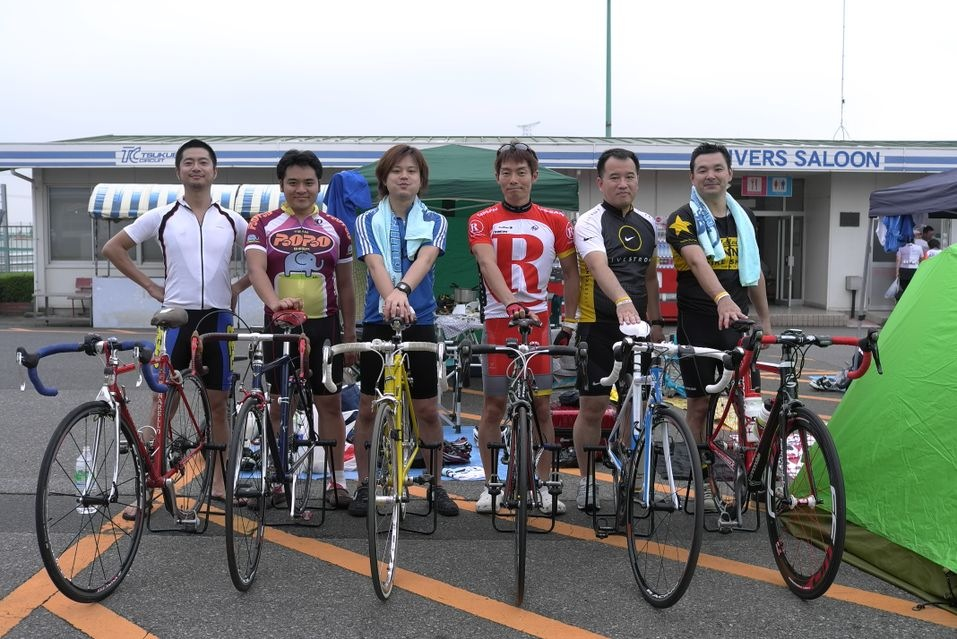 w/ Bike crazy guys.